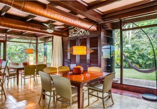 fotógrafo profesional de arquitectura en panamá city - Living room, El Otro Lado Hotel, Portobelo