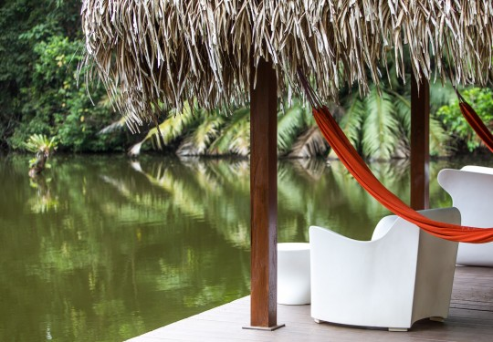 fotografia de arquitectura panama  - The River El Otro Lado, Portobelo, Panama