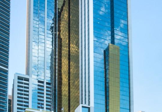 fotografia de arquitectura ciudad de panama  - Exterior Bicsa Tower, Ave. Balboa, PTY
