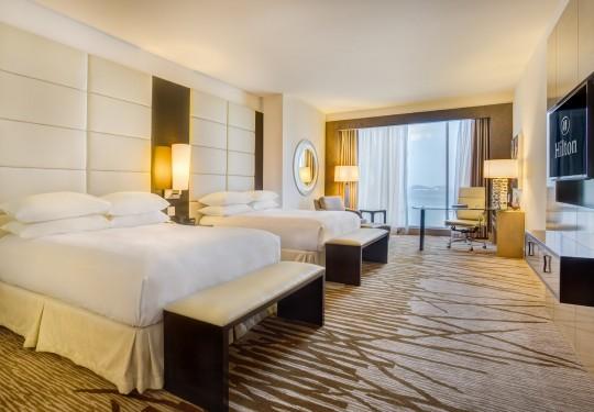 fotografo de interiores en panama - Bed room interiors, Hilton hotel, Panama city