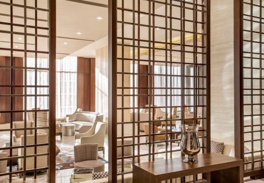 fotografia de interiores en pty - Lobby, Hilton Hotel, Panama city