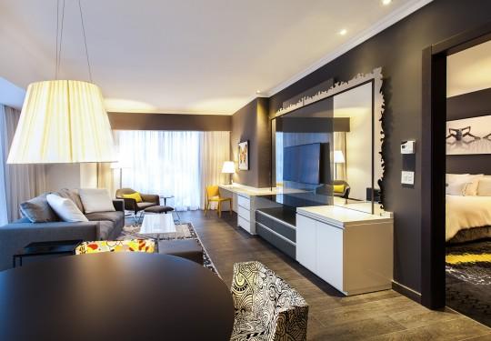 fotografia de interiores en panama - Suite interior, Sortis hotel, Panama city