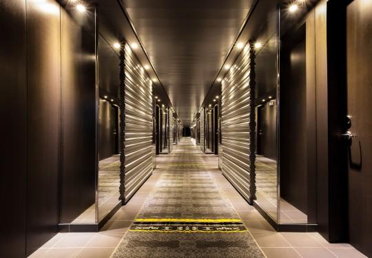fotógrafo profesional de diseño interior en panamá city - Passage interior design, Sortis Hotel, Panama city