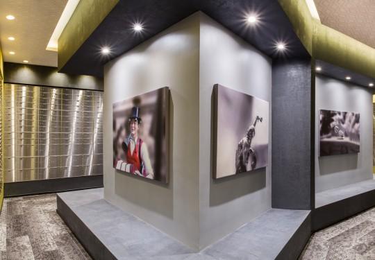 fotografia publicitaria de interiores e arquitectura en panama - Panorama of Safety Deposit, Panama Vaults, Panama city